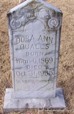 QUALLS, DORA ANN - Montgomery County, Arkansas | DORA ANN QUALLS - Arkansas Gravestone Photos