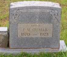 QUALLS, F.M. - Montgomery County, Arkansas | F.M. QUALLS - Arkansas Gravestone Photos