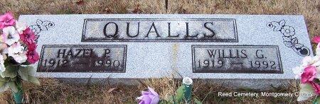 QUALLS, HAZEL PEAL - Montgomery County, Arkansas   HAZEL PEAL QUALLS - Arkansas Gravestone Photos