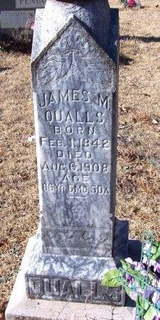 QUALLS, JAMES M. - Montgomery County, Arkansas | JAMES M. QUALLS - Arkansas Gravestone Photos