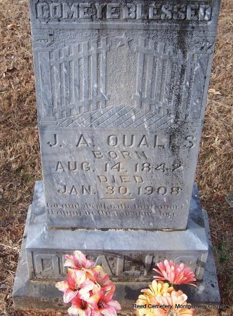 QUALLS, J A - Montgomery County, Arkansas | J A QUALLS - Arkansas Gravestone Photos