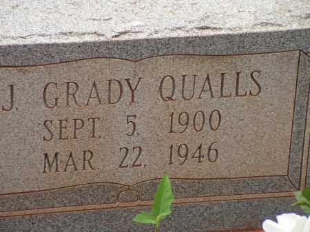 QUALLS, J GRADY - Montgomery County, Arkansas | J GRADY QUALLS - Arkansas Gravestone Photos