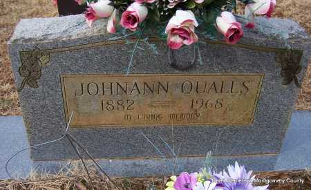 CEARLEY QUALLS, JOHNANN - Montgomery County, Arkansas | JOHNANN CEARLEY QUALLS - Arkansas Gravestone Photos