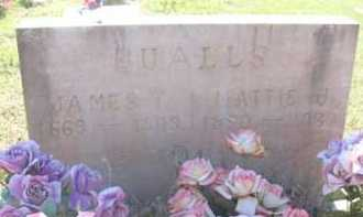 QUALLS, MATTIE J. - Montgomery County, Arkansas | MATTIE J. QUALLS - Arkansas Gravestone Photos