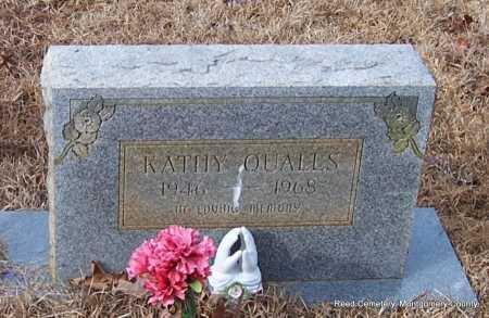 QUALLS, KATHY - Montgomery County, Arkansas | KATHY QUALLS - Arkansas Gravestone Photos
