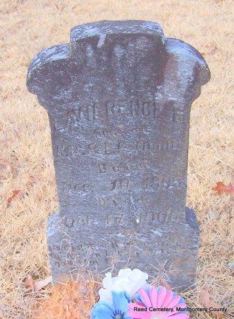 QUALLS, LAWRENCE E - Montgomery County, Arkansas | LAWRENCE E QUALLS - Arkansas Gravestone Photos