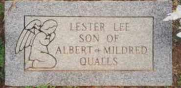 QUALLS, LESTER LEE - Montgomery County, Arkansas | LESTER LEE QUALLS - Arkansas Gravestone Photos