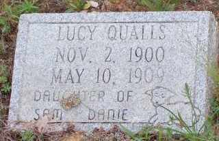 QUALLS, LUCY - Montgomery County, Arkansas   LUCY QUALLS - Arkansas Gravestone Photos