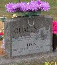 QUALLS, LEON - Montgomery County, Arkansas | LEON QUALLS - Arkansas Gravestone Photos
