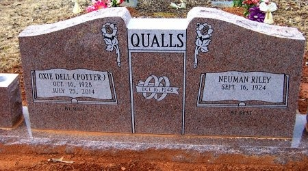 QUALLS, OXIE DELL - Montgomery County, Arkansas | OXIE DELL QUALLS - Arkansas Gravestone Photos