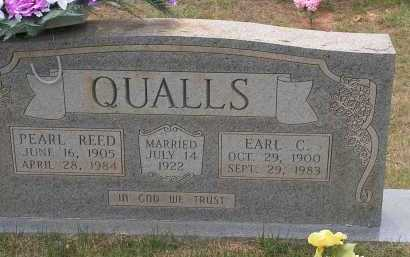 QUALLS, EARL C - Montgomery County, Arkansas | EARL C QUALLS - Arkansas Gravestone Photos