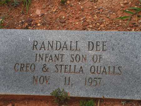 QUALLS, RANDALL DEE - Montgomery County, Arkansas | RANDALL DEE QUALLS - Arkansas Gravestone Photos