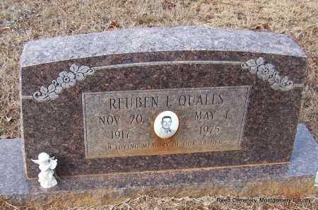 QUALLS, REUBEN L - Montgomery County, Arkansas | REUBEN L QUALLS - Arkansas Gravestone Photos