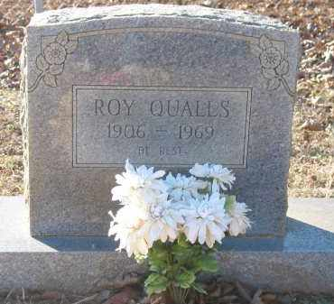 QUALLS, ROY - Montgomery County, Arkansas   ROY QUALLS - Arkansas Gravestone Photos