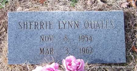 QUALLS, SHERRIE LYNN - Montgomery County, Arkansas   SHERRIE LYNN QUALLS - Arkansas Gravestone Photos