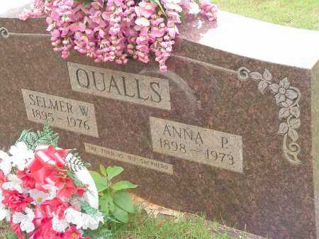 QUALLS, ANNA P. - Montgomery County, Arkansas | ANNA P. QUALLS - Arkansas Gravestone Photos