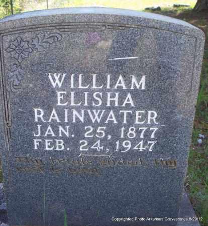 RAINWATER, WILLIAM ELISHA - Montgomery County, Arkansas | WILLIAM ELISHA RAINWATER - Arkansas Gravestone Photos