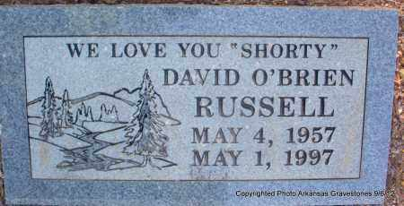 "RUSSELL, DAVID O'BRIEN ""SHORTY"" - Montgomery County, Arkansas 