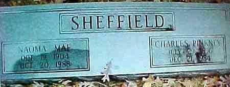HILL SHEFFIELD, NAOMA MAE - Montgomery County, Arkansas | NAOMA MAE HILL SHEFFIELD - Arkansas Gravestone Photos