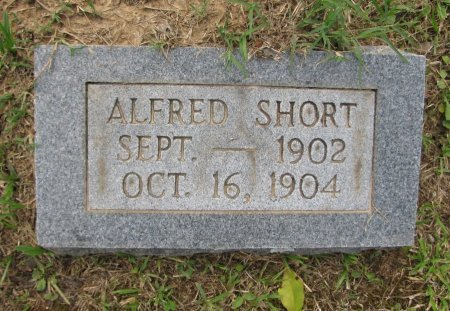 SHORT, ALFRED - Montgomery County, Arkansas | ALFRED SHORT - Arkansas Gravestone Photos