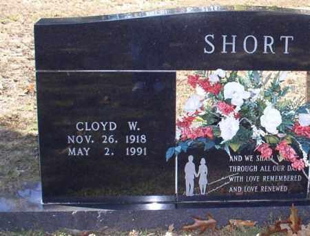 SHORT, CLOYD W - Montgomery County, Arkansas | CLOYD W SHORT - Arkansas Gravestone Photos