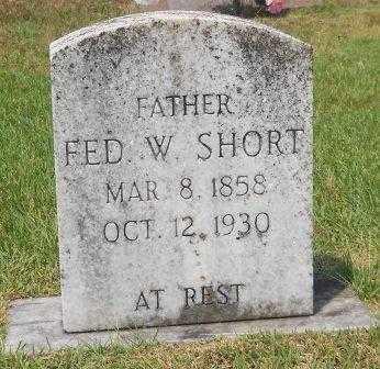 SHORT, FED W - Montgomery County, Arkansas | FED W SHORT - Arkansas Gravestone Photos