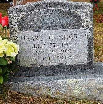 SHORT, HEARL C - Montgomery County, Arkansas | HEARL C SHORT - Arkansas Gravestone Photos