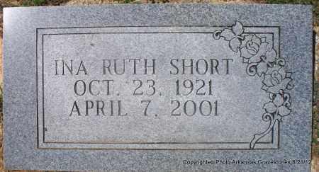 SHORT, INA RUTH - Montgomery County, Arkansas   INA RUTH SHORT - Arkansas Gravestone Photos