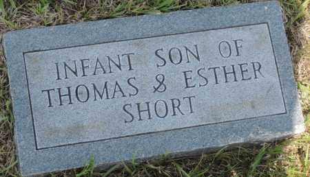 SHORT, INFANT SONS - Montgomery County, Arkansas | INFANT SONS SHORT - Arkansas Gravestone Photos