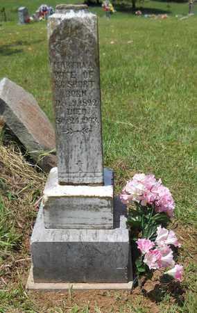 SHORT, MARTHA A - Montgomery County, Arkansas | MARTHA A SHORT - Arkansas Gravestone Photos