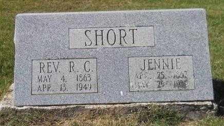 SHORT, JENNIE - Montgomery County, Arkansas | JENNIE SHORT - Arkansas Gravestone Photos