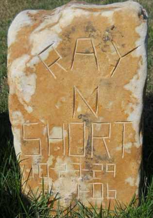 SHORT, RAY N - Montgomery County, Arkansas | RAY N SHORT - Arkansas Gravestone Photos