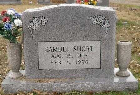 SHORT, SAMUEL - Montgomery County, Arkansas | SAMUEL SHORT - Arkansas Gravestone Photos