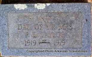 TAYLOR, INFANT DAUGHTER - Montgomery County, Arkansas   INFANT DAUGHTER TAYLOR - Arkansas Gravestone Photos