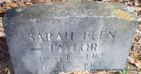 TAYLOR, SARAH ELEN - Montgomery County, Arkansas | SARAH ELEN TAYLOR - Arkansas Gravestone Photos