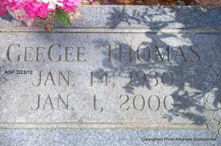 THOMAS, GEEGEE - Montgomery County, Arkansas   GEEGEE THOMAS - Arkansas Gravestone Photos
