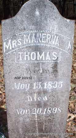 THOMAS, MANERVA - Montgomery County, Arkansas | MANERVA THOMAS - Arkansas Gravestone Photos