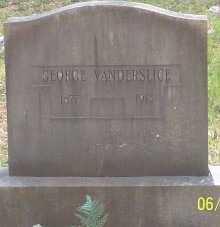 VANDERSLICE, GEORGE - Montgomery County, Arkansas | GEORGE VANDERSLICE - Arkansas Gravestone Photos