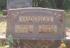 VANDERSLICE, SR, WILLIAM RICHARD - Montgomery County, Arkansas | WILLIAM RICHARD VANDERSLICE, SR - Arkansas Gravestone Photos