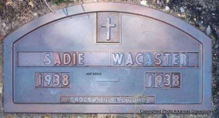 WACASTER, SADIE - Montgomery County, Arkansas | SADIE WACASTER - Arkansas Gravestone Photos