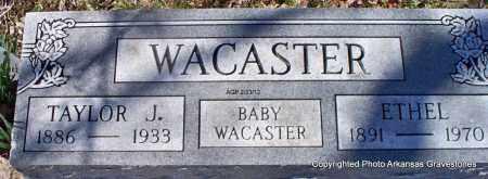 WACASTER, BABY - Montgomery County, Arkansas | BABY WACASTER - Arkansas Gravestone Photos