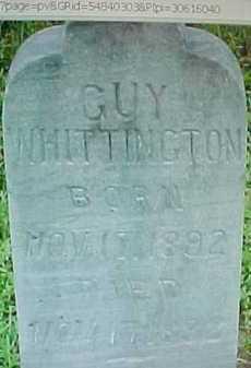 WHITTIINGTON, GUY - Montgomery County, Arkansas | GUY WHITTIINGTON - Arkansas Gravestone Photos