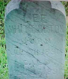 WHITTINGTON, LEE - Montgomery County, Arkansas | LEE WHITTINGTON - Arkansas Gravestone Photos