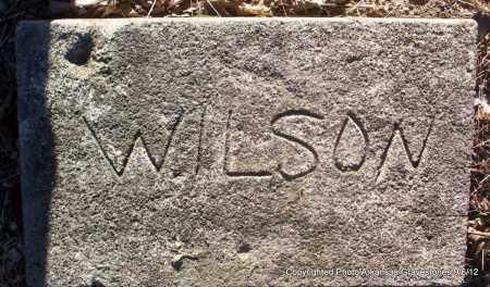 WILSON, UNKNOWN - Montgomery County, Arkansas   UNKNOWN WILSON - Arkansas Gravestone Photos