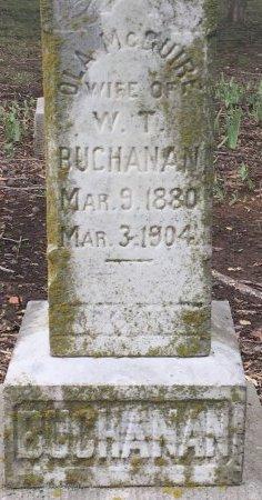 MCGUIRE BUCHANAN, OLA (CLOSEUP) - Nevada County, Arkansas | OLA (CLOSEUP) MCGUIRE BUCHANAN - Arkansas Gravestone Photos