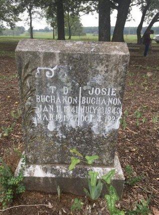 BUCHANON, T. D. - Nevada County, Arkansas | T. D. BUCHANON - Arkansas Gravestone Photos
