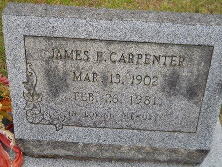 CARPENTER, JAMES E - Nevada County, Arkansas | JAMES E CARPENTER - Arkansas Gravestone Photos