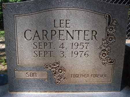 CARPENTER, LEE - Nevada County, Arkansas | LEE CARPENTER - Arkansas Gravestone Photos