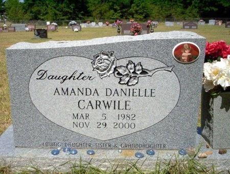 CARWILE, AMANDA DANIELLE - Nevada County, Arkansas   AMANDA DANIELLE CARWILE - Arkansas Gravestone Photos