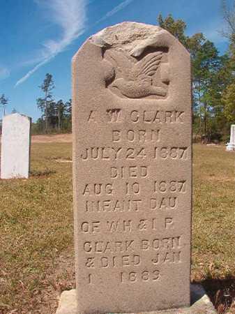 CLARK, A W - Nevada County, Arkansas | A W CLARK - Arkansas Gravestone Photos